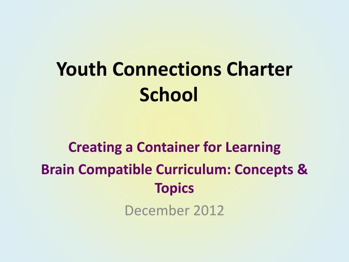 youth connections charter school n.