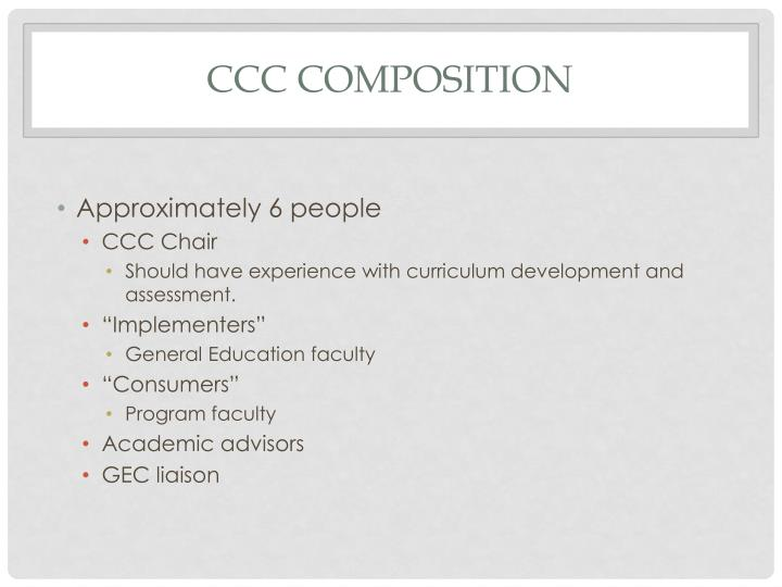 CCC Composition