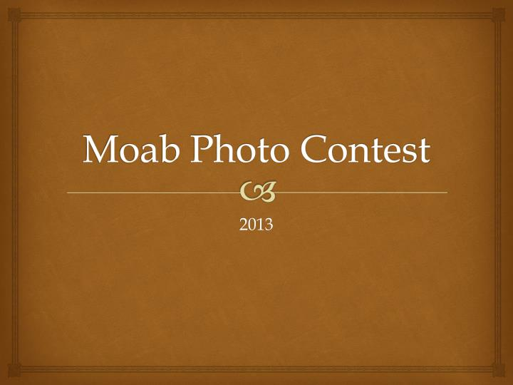 moab photo contest n.