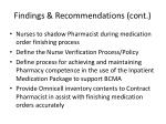 findings recommendations cont