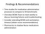 findings recommendations