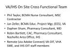 va ihs on site cross functional team1