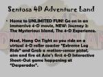 sentosa 4d adventure land