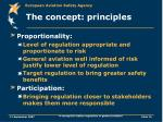 the concept principles