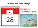 what s the date today1