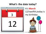 what s the date today2