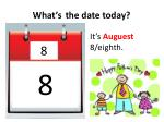 what s the date today7