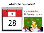 what s the date today8
