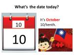 what s the date today9
