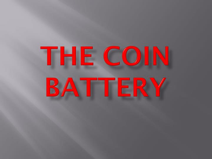 the coin battery n.