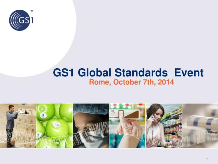 gs1 global standards event n.