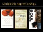 discipleship apprenticeships