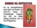 buwan ng nutrisyon