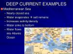 deep current examples1