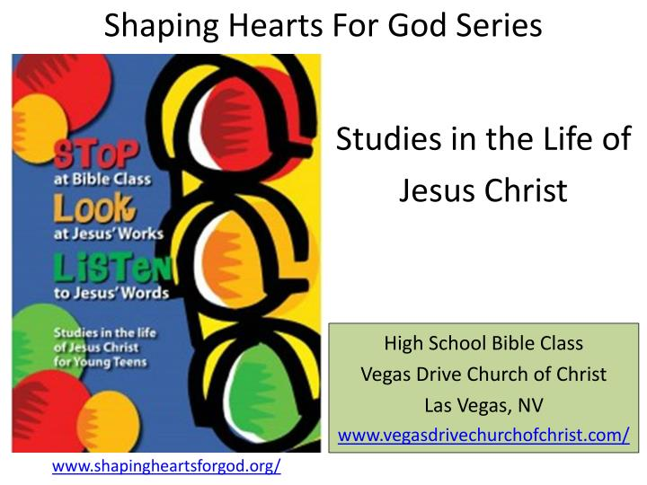 shaping hearts for god series n.