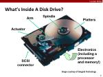 what s inside a disk drive