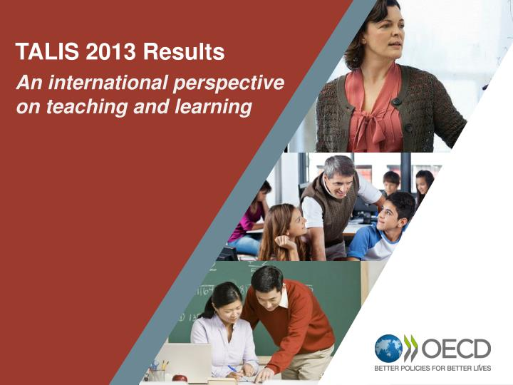 TALIS 2013 Results
