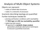analysis of multi object systems