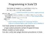 programming in scala z3