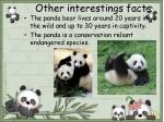 other interestings facts