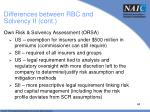 differences between rbc and solvency ii cont5