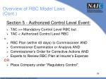 overview of rbc model laws cont2