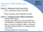 overview of rbc model laws cont3