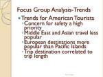 focus group analysis trends