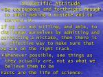 scientific attitude1