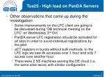 tue25 high load on panda servers1