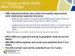 11 th scope of work sow major changes
