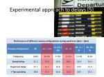 experimental appro ach to delays 5