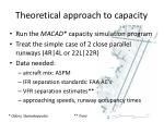 theoretical approach to capacity