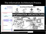 the information architecture process