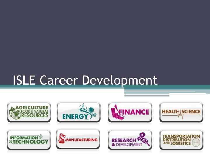 isle career development n.