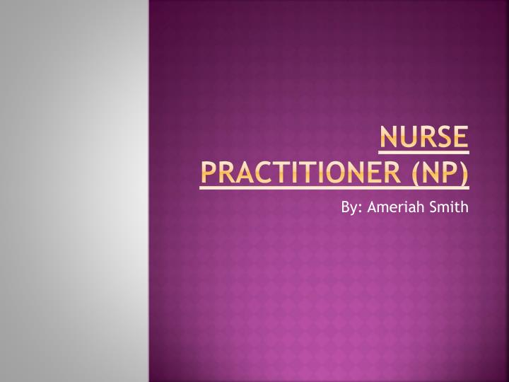 nurse practitioner np n.