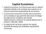 capital econ mico