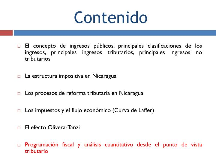 El concepto de ingresos públicos, principales clasificaciones de los ingresos, principales ingresos tributarios, principales ingresos no tributarios