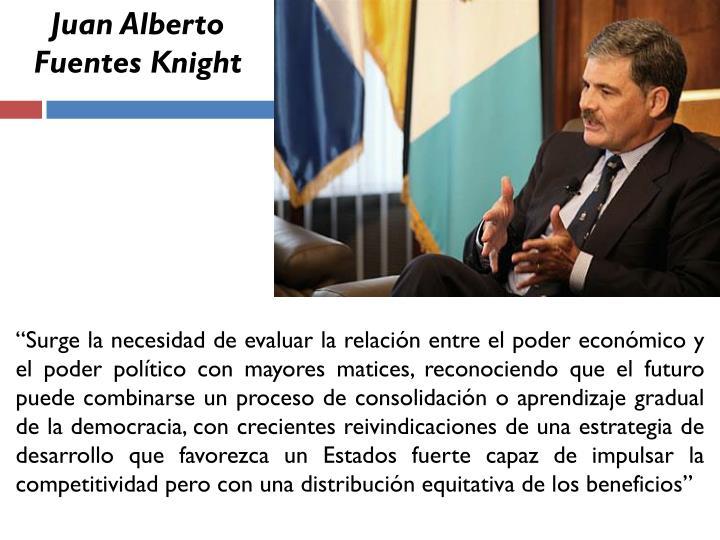 Juan Alberto Fuentes Knight