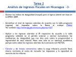 tarea 2 an lisis de ingresos fiscales en nicaragua 3