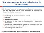 una observaci n m s sobre el principio de la neutralidad