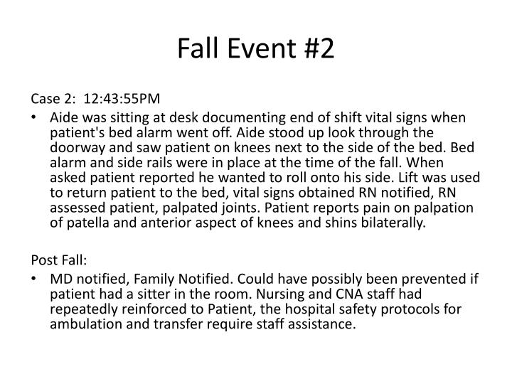 Fall Event