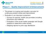 phase 5 quality improvement enhancements