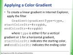 applying a color gradient4