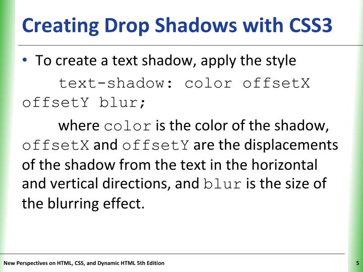 Creating Drop Shadows with CSS3