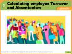 calculating employee turnover and absenteeism