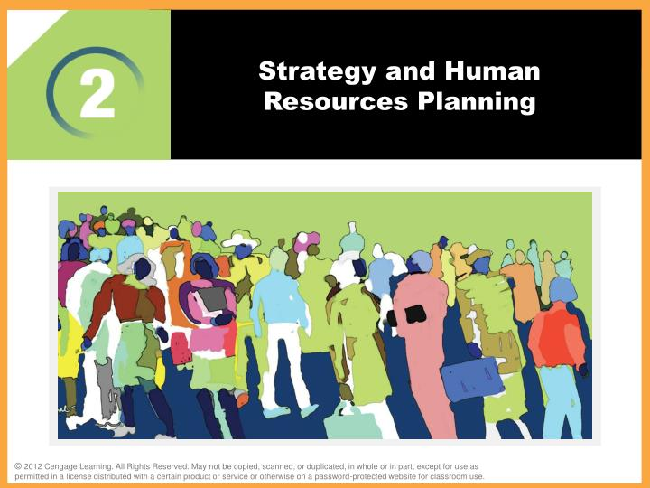 strategy and human resources planning n.