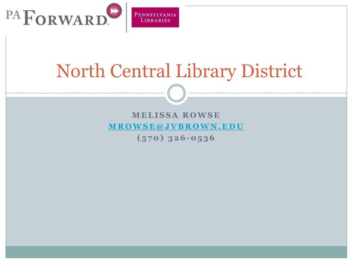 north central library district n.