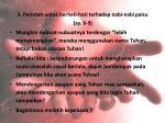 3 perintah untuk berhati hati terhadap nabi nabi palsu ay 8 9