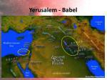 yerusalem babel